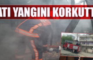 Komşu Şehirde Yangın Korkuttu