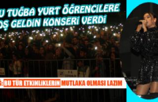 Popçu Tuğba Yurt Öğrencilere Hoş Geldin Konseri...