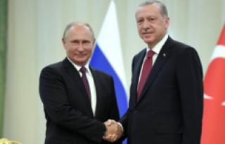 Putin, TürkAkım Doğal Gaz Boru Hattı Projesi İçin...