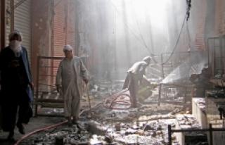 Taliban'dan Afganistan'daki kontrol noktasına...