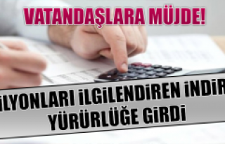 Vatandaşlara Müjde! KDV ve ÖTV İndirimleri Yürürlüğe...