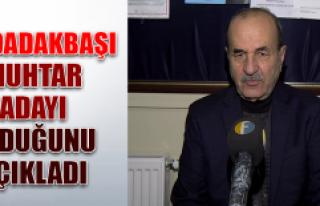 Ataşehir Mahalle Muhtarı Ali Dabakbaşı Yerel Seçimlerde...