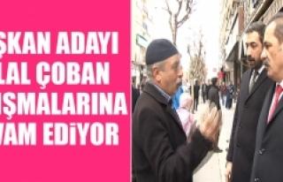 Belediye Başkan Adayı Çoban, Seçim Çalışmalarını...
