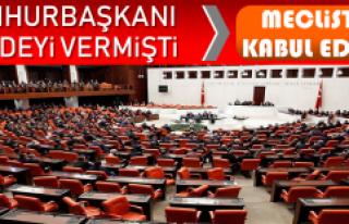 Cumhurbaşkanı Erdoğan Müjdeyi Vermişti! Kanun...