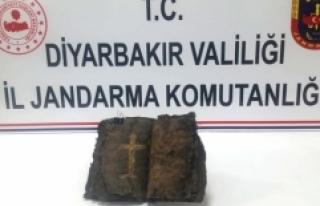 Diyarbakır'da bin 200 yıllık olduğu iddia...