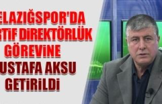 Elazığspor'da Sportif Direktörlüğe Mustafa...
