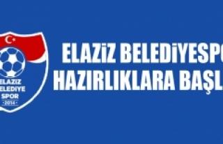 Elaziz Belediyespor, Hazırlıklara Başladı
