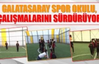 Galatasaray Spor Okulu, Çalışmalarını Sürdürüyor