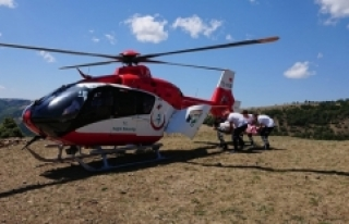 """Helikopter ve uçak ambulanslarla ücretsiz..."