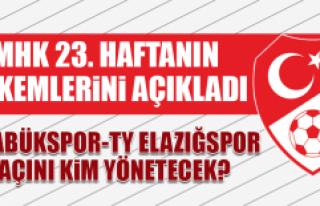 Karabükspor-TY Elazığspor Maçını Kim Yönetecek?