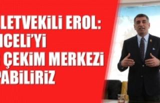 Milletvekili Erol: Tunceli'yi Bir Çekim Merkezi...