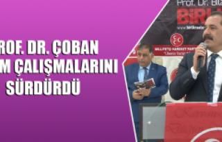 Prof. Dr. Çoban, Projelerini Açıklamaya Devam Ediyor
