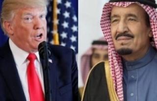 Trump'tan küçük düşürücü Suudi Arabistan...