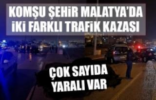 Komşu Şehirde İki Farklı Trafik Kazası! Çok...