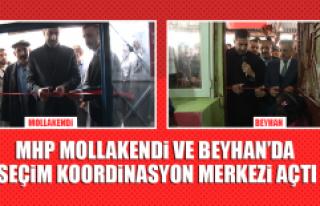 MHP Mollakendi ve Beyhan'da Seçim Koordinasyon...