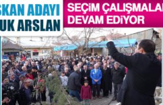 Saadet Partisi Başkan Adayı Haluk Arslan Seçim...