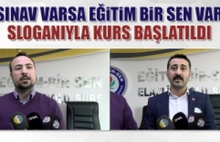 """""""Sınav Varsa Eğitim Bir Sen Var"""""""