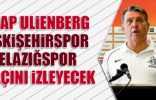 Jaap Ulienberg, Eskişehirspor-Elazığspor Maçını...