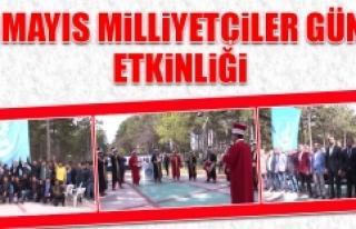 """""""3 Mayıs Milliyetçiler Günü"""" Etkinliği"""