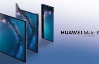 ABD Yasağından Sonra Katlanabilir Telefon Huawei...