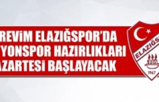 Afjet Afyonspor Hazırlıkları Pazartesi Başlayacak