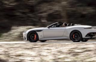 Aston Martin'in En Hızlı Üstü Açık Modeli...
