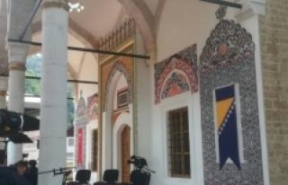 'Bosna'nın İncisi' Alaca Camii ibadete...