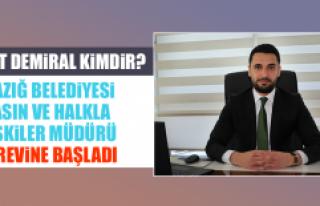 Elazığ Belediyesi Basın ve Halkla İlişkiler Müdürü...