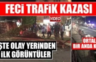 Elazığ'da Meydana Gelen Kazada Ortalık Bir...
