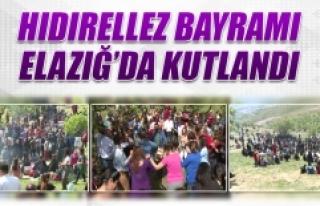 Elazığ'da Hıdrellez Kutlamaları