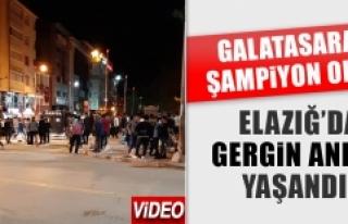 Elazığspor Taraftarları ile Galatasaraylılar Arasında...