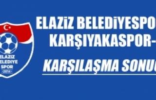 Elaziz Belediyespor 0-2 Karşıyakaspor