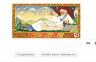 Google'dan Ömer Hayyam'a Özel Doodle