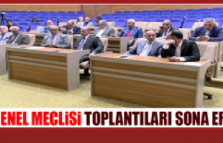 İl Genel Meclisi Toplantıları Sona Erdi