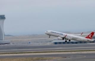 İstanbul'un hava yolcusu 4 ayda 32 milyona yaklaştı