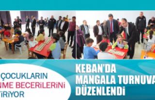 Keban'da Mangala Turnuvası Düzenlendi