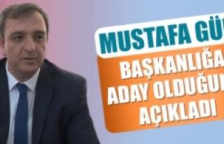Mustafa Gür, Başkanlığa Aday Olduğunu Açıkladı