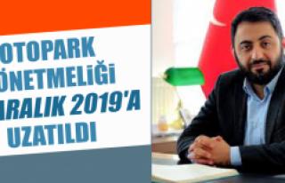 Otopark Yönetmeliği 31 Aralık 2019'a Uzatıldı