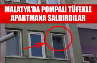 Pompalı Tüfekle Apartmana Saldırdılar