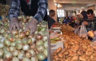 Ramazan Ayıyla Birlikte Patates ve Soğan Fiyatları...