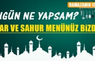 Ramazanın On Beşinci Gününde Elazığlılara Özel...