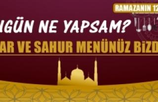 Ramazanın On İkinci Gününde Elazığlılara Özel...