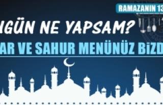 Ramazanın On Üçüncü Gününde Elazığlılara...