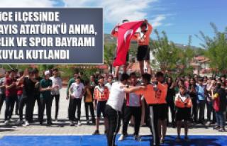 Sivrice'de 19 Mayıs Atatürk'ü Anma, Gençlik...