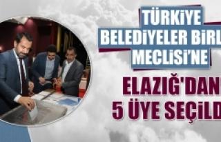 Türkiye Belediyeler Birliği Meclisi'ne Elazığ'dan...