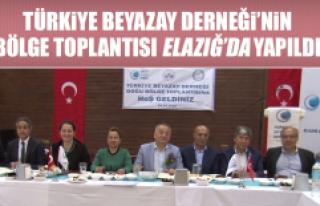 Türkiye Beyazay Derneği'nin Bölge Toplantısı...