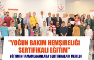 """""""Yoğun Bakım Hemşireliği Sertifikalı Eğitim"""""""