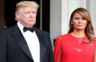 Donoald Trump'ın eşi Melania Trump göbeğiyle...