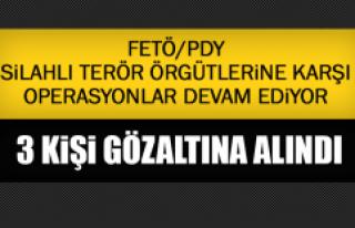 FETÖ/PDY Terör Örgütlerine Karşı Operasyonlar...