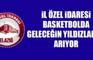 İl Özel İdaresi Basketbolda Geleceğin Yıldızlarını...
